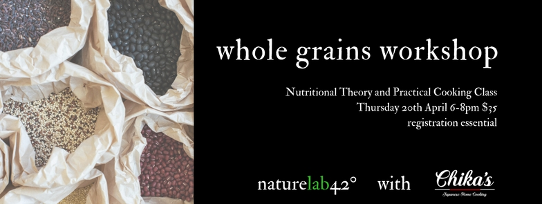 whole grains new FB event size